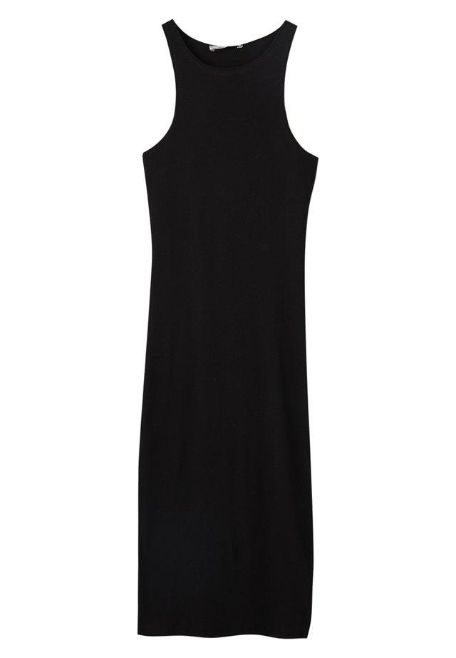 ÄRMELLOSES - Etui-jurk - black