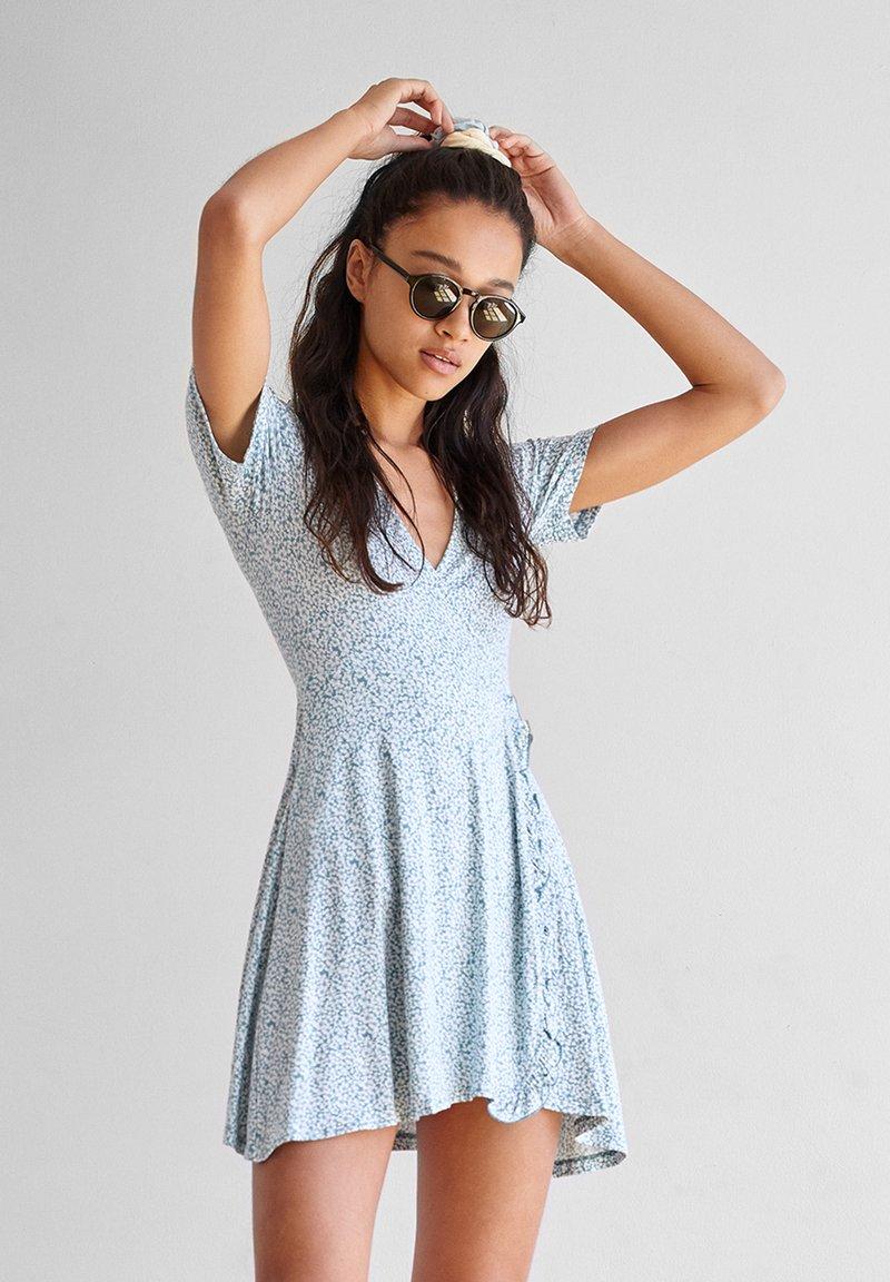 PULL&BEAR - Denní šaty - blue