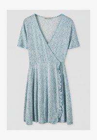 PULL&BEAR - Denní šaty - blue - 3