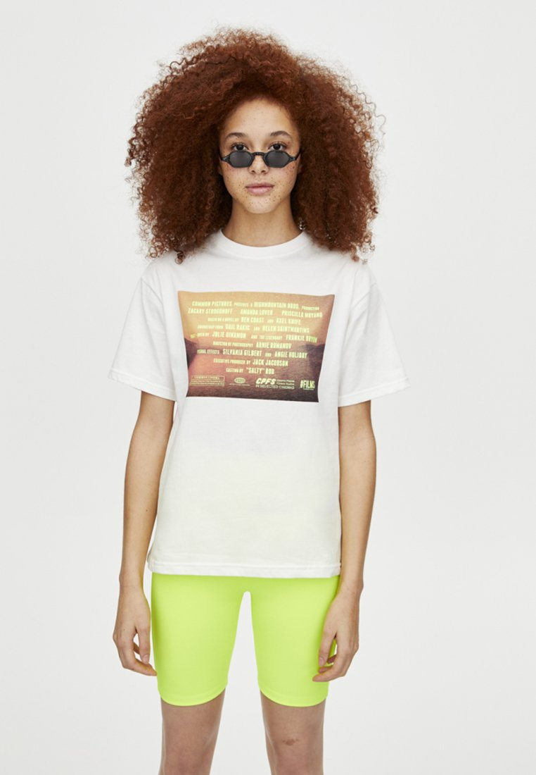 PULL&BEAR - T-Shirt print - white