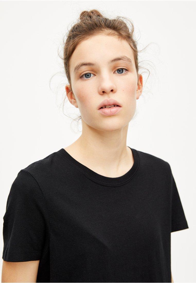 PULL amp;BEAR BASICT basique black shirt dorxeBC