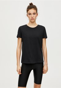 PULL&BEAR - BASIC - T-shirt basique - black - 0