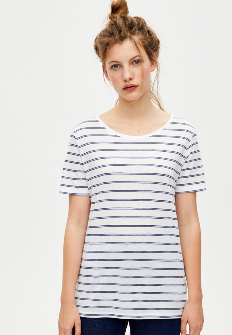 PULL&BEAR - T-shirts print - blue
