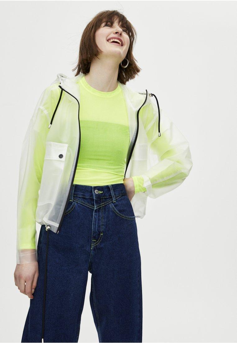 PULL&BEAR - Langarmshirt - neon yellow