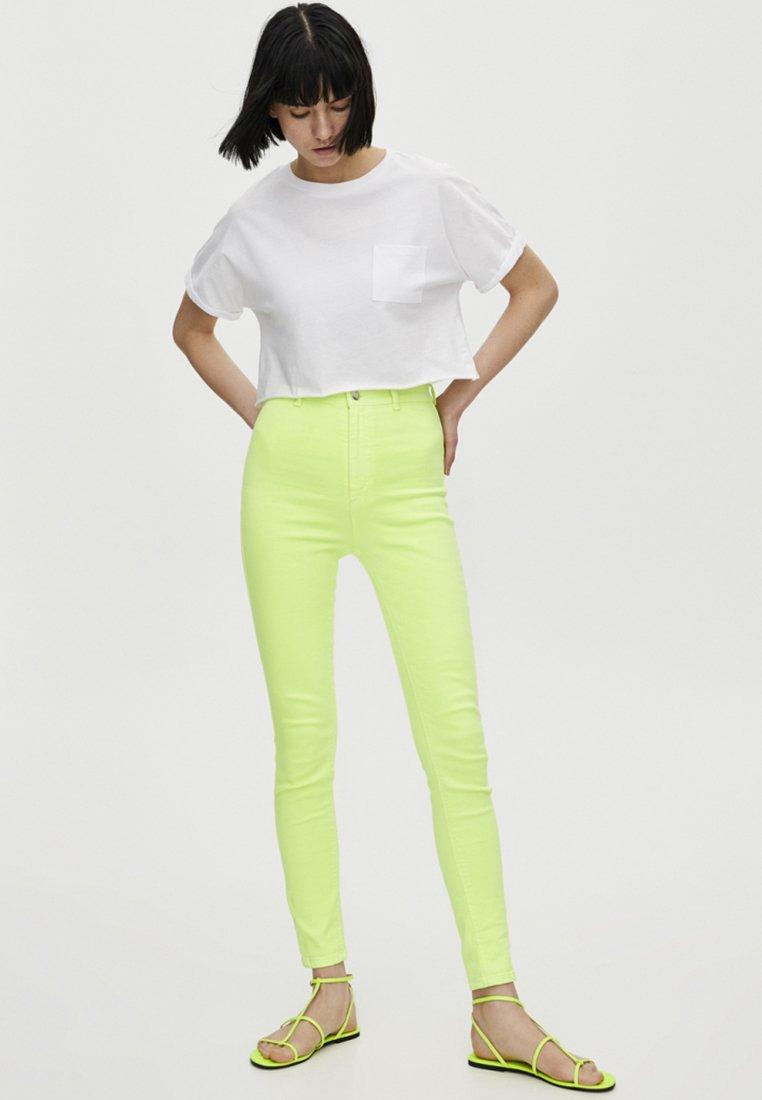 LifeT White Join Imprimé Pull shirt amp;bear hQxotCBdsr