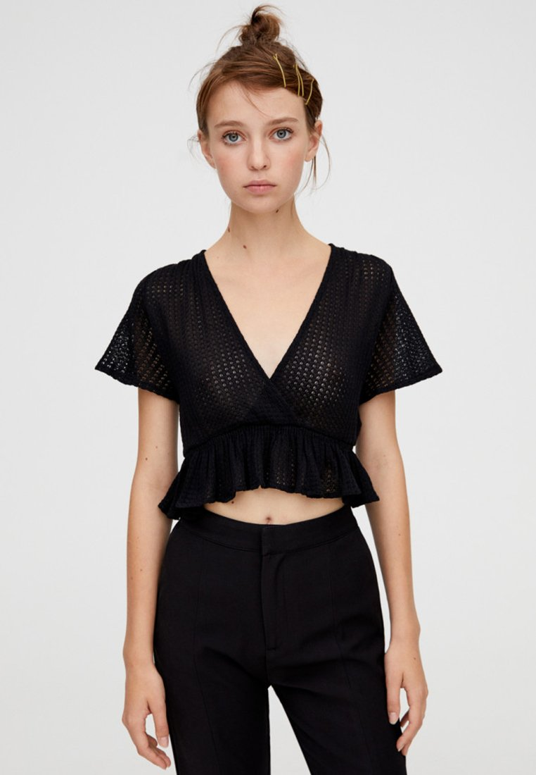 PULL&BEAR - T-Shirt print - black