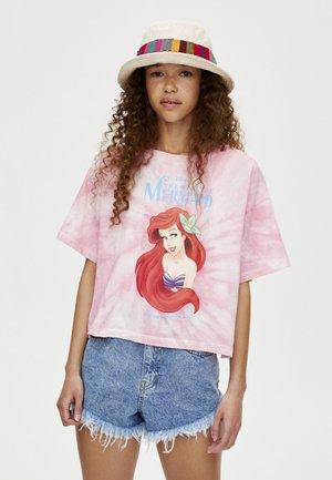 Disney's The Little Mermaid film - Triko spotiskem - light pink