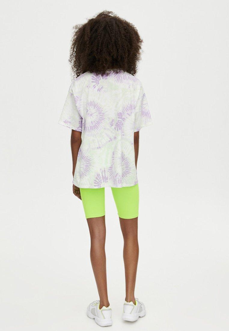 Batik printT amp;bear shirt Imprimé White lilac Mit Pull L3qS5Ajc4R