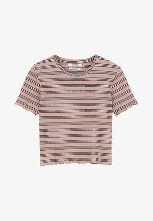MIT MUSCHELSAUM - T-shirt z nadrukiem - pink