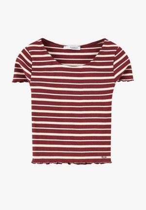 T-shirts print - bordeaux