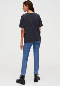 PULL&BEAR - T-Shirt print - dark grey - 2