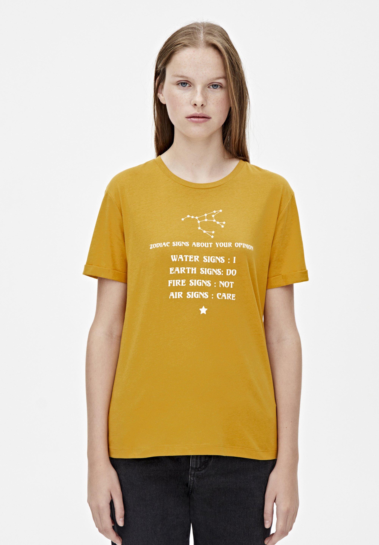 MIT STERNZEICHENMOTIV - T-shirt imprimé