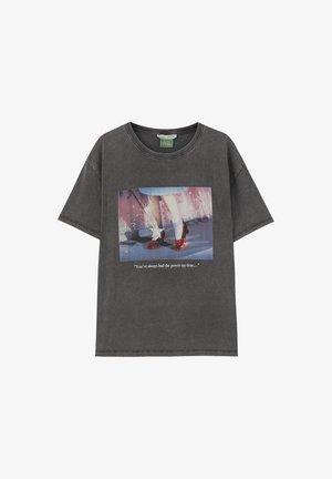 T-SHIRT MIT SLOGAN DER ZAUBERER VON OZ 05234345 - T-Shirt print - dark grey
