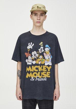 T-SHIRT MICKEY MOUSE & FRIENDS 05234519 - Triko spotiskem - black