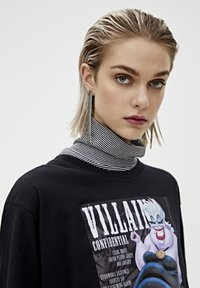 "PULL&BEAR - SHIRT ""URSULA"" IN SCHWARZ 05234321 - Print T-shirt - mottled black - 4"