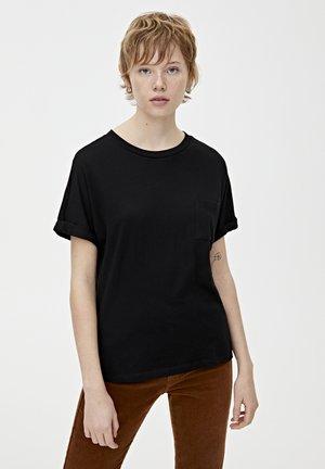 T-shirt basic - metallic black