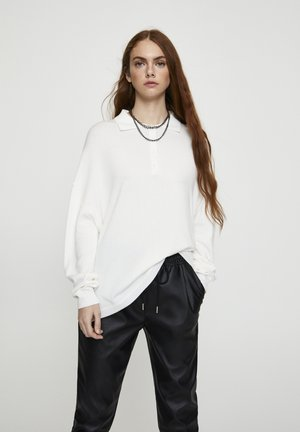 LONGSLEEVE - Poloshirt - beige