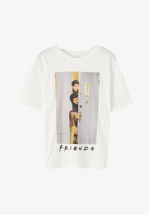 """""""FRIENDS""""  - T-shirt imprimé - white"""