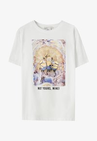 PULL&BEAR - T-shirt con stampa - white - 5