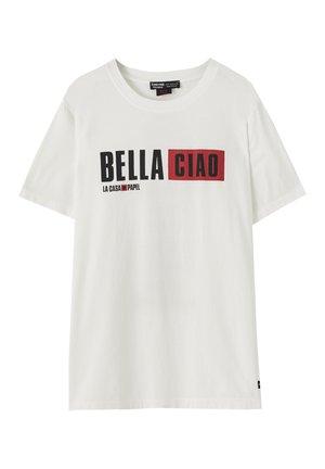 LA CASA DE PAPEL - T-Shirt print - white