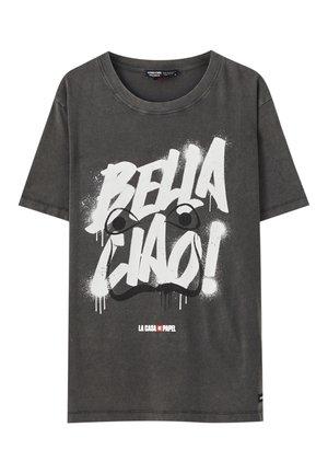 LA CASA DE PAPEL - T-Shirt print - dark grey