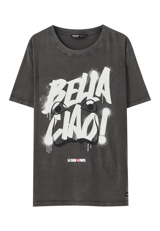 LA CASA DE PAPEL - T-shirt print - dark grey