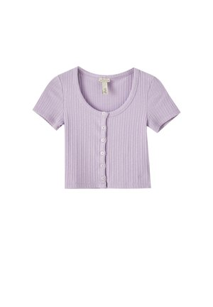 Basic T-shirt - mauve
