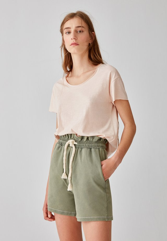 T-shirt basic - rose