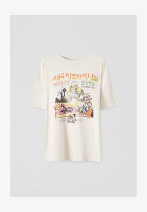 LED ZEPPELIN - Print T-shirt - beige