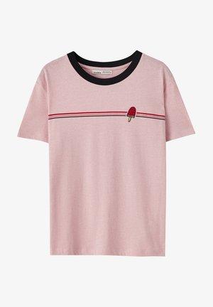T-Shirt print - rose