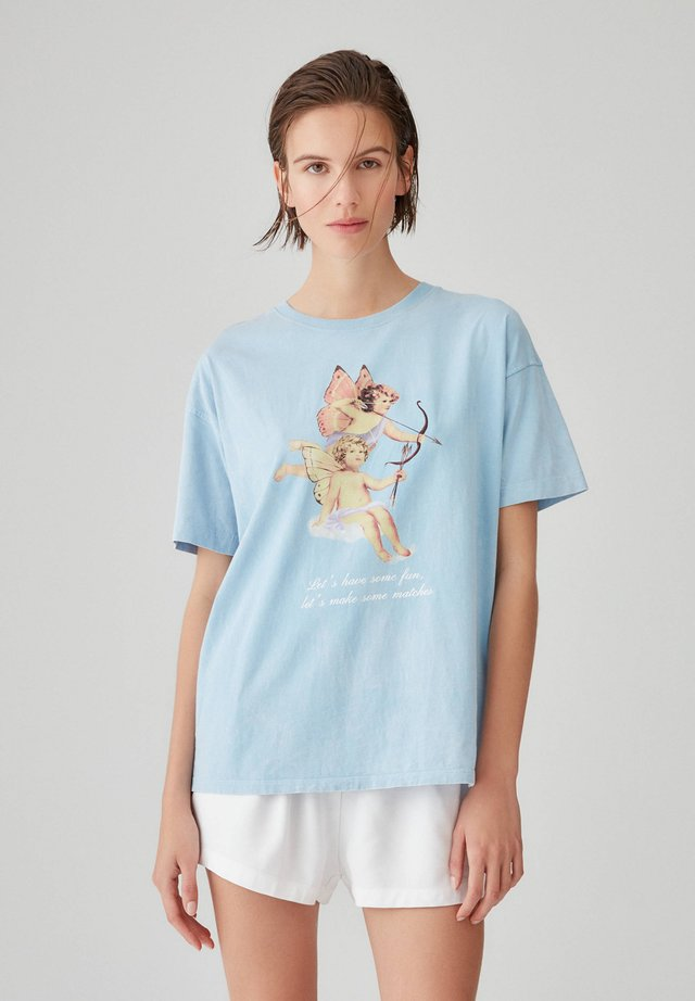 ENGELMOTIV - T-shirts print - blue