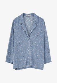 PULL&BEAR - Skjortebluser - light blue - 5