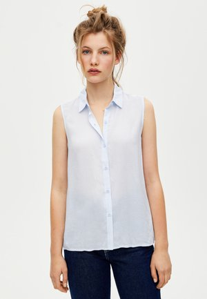 SLEEVELESS - Skjorta - blue