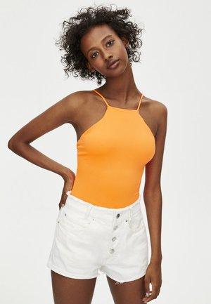 MIT NECKHOLDER - Top - orange