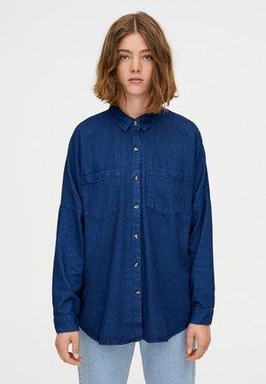 MIT LANGEN ÄRMELN - Overhemdblouse - blue