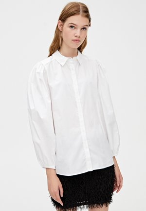 MIT BALLONÄRMELN - Skjortebluser - white