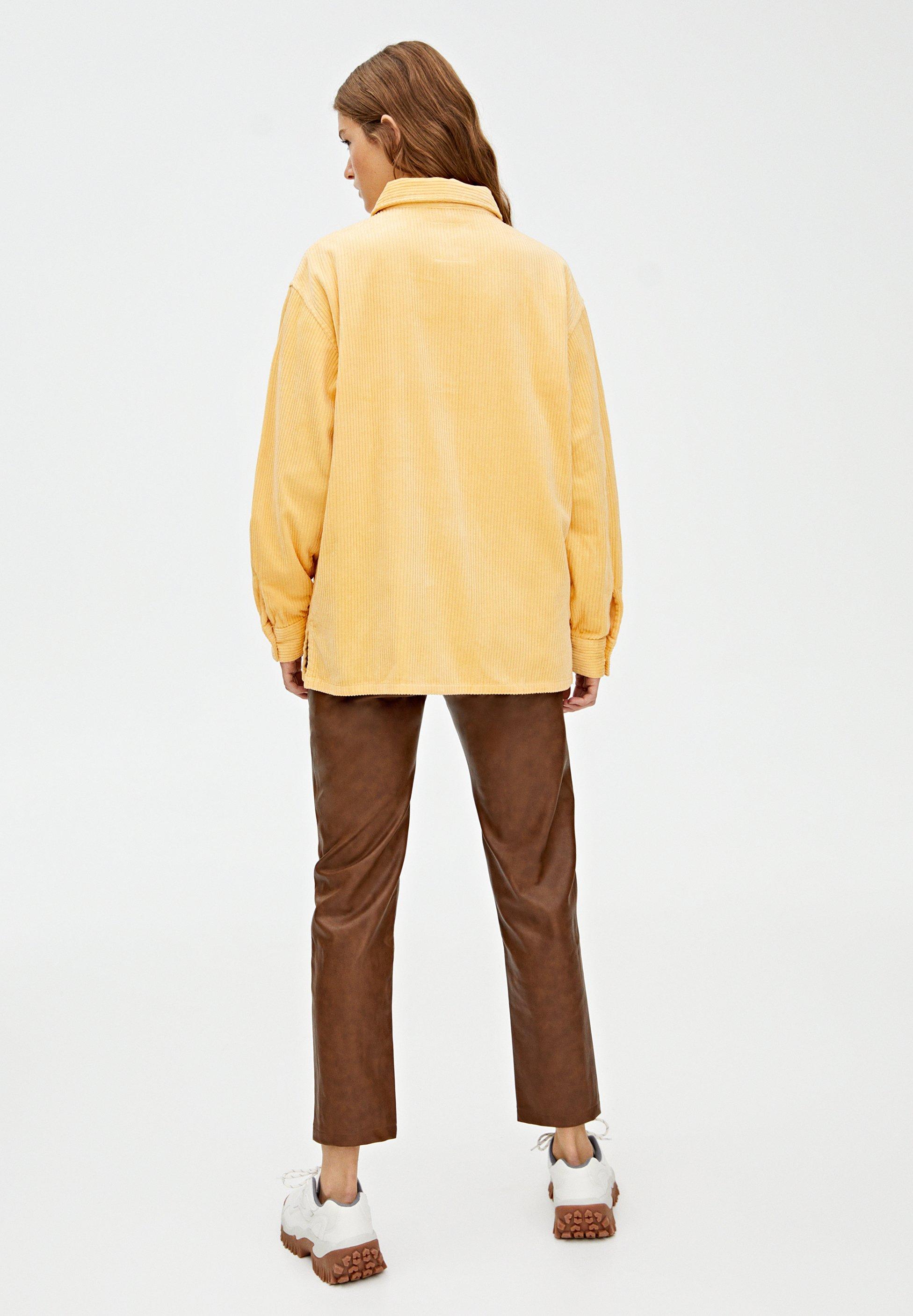 amp;bear amp;bear Yellow Pull Camicia Camicia Pull eCdoxB