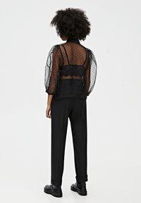 PULL&BEAR - Camicia - black - 2