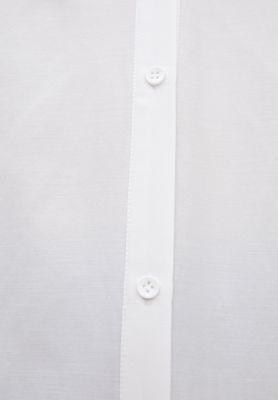 PULL&BEAR HEMD MIT BREITEM REVERSKRAGEN 05474406 - Koszula - white