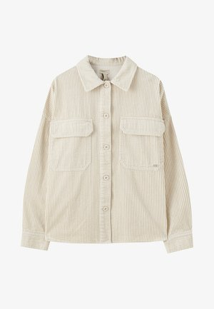 BEIGES CORD-OBERHEMD 05474309 - Button-down blouse - white