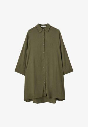 BEDRUCKTES BASIC-HEMDKLEID 05474400 - Koszula - khaki