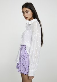 PULL&BEAR - Button-down blouse - off white - 4