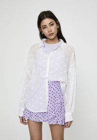 PULL&BEAR - Button-down blouse - off white - 2