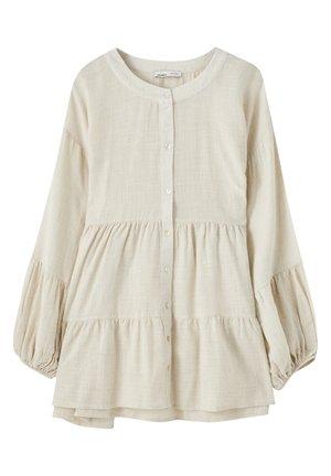 Bluse - beige