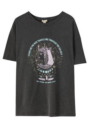 MIT MOTIV - T-shirt imprimé - dark grey