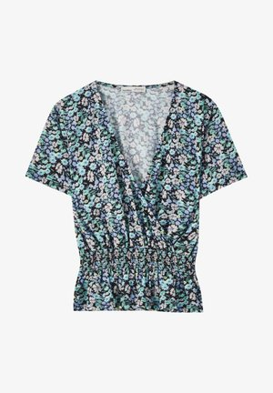 MIT BLUMENPRINT - Blouse - multi-coloured