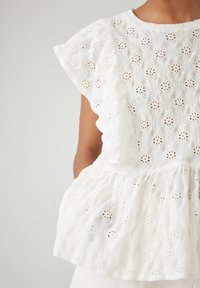 PULL&BEAR - Bluse - white - 2