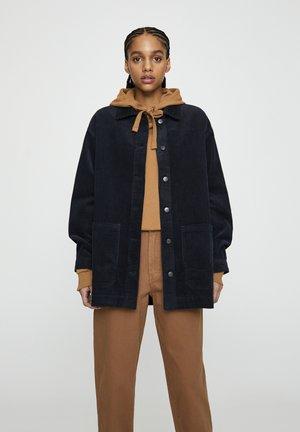MIT AUFGEDRUCKTEN BRILLANTEN - Summer jacket - dark grey