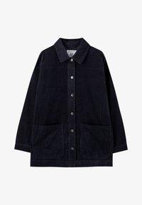 PULL&BEAR - MIT AUFGEDRUCKTEN BRILLANTEN - Lehká bunda - dark grey - 5