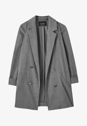 Manteau court - mottled dark grey